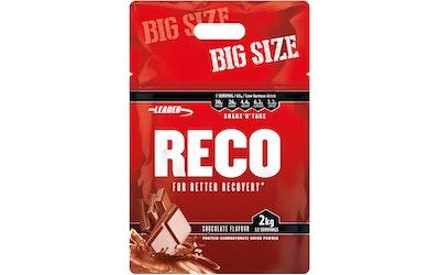 Leader Reco suklaanmakuinen proteiini-hiilihydraattijuomajauhe 2 kg