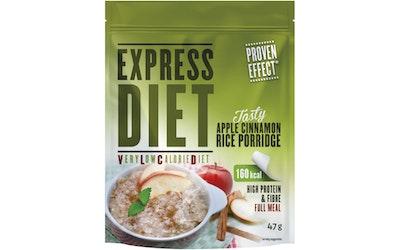 Express Diet riisipuuro 47g kaneli-omena