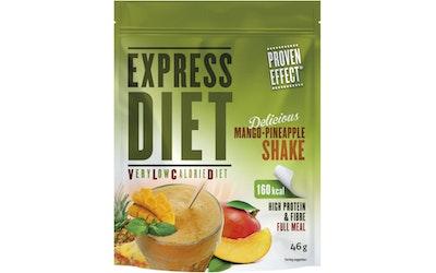 Express Diet 46 g hedelmäpirtelö -ateria-aines.