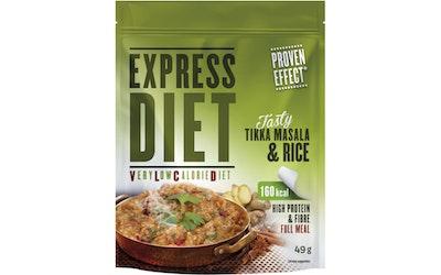 Express Diet tikka masala riisi 49g
