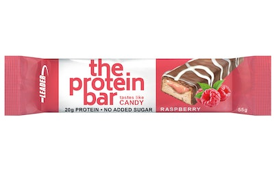 Leader The ProteinBar 55g raspberry