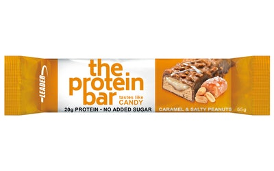 Leader The Protein Bar 55g salty peanuts-caramel