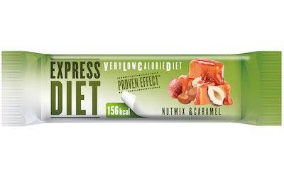 Express Diet VLCD 45g pähkinän ja karamellin makuinen patukka