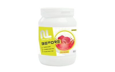Leader No Limits Urheilujuomajauhe Before 600g Raspberry