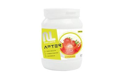 Leader No Limits After 600g Strawberry Proteiini-hiilihydrattijuomajauhe