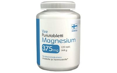 Vire Magnesiumvalmiste magnesium 375 mg purutabletti 120 tablettia