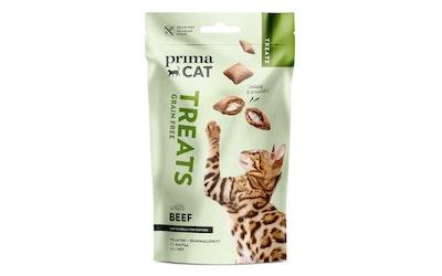 Primacat Treats crunchy sis nautaa antihairball 40g
