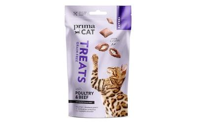 PrimaCat Treats crunchy siipikarjaa ja nautaa 40g