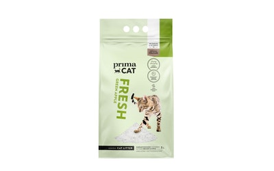 PrimaCat Fresh Green Apple kissanhiekka 5l valkoinen