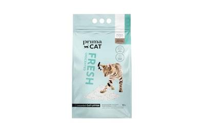 PrimaCat Fresh Unscented kissanhiekka 10l valkoinen - kuva