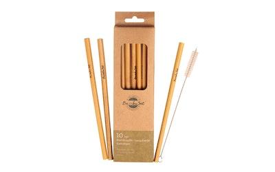 Bambupilli 10kpl ja pesuharja