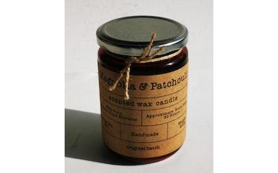 Candle Haven tuoksukynttilä lasipurkissa Magnolia & Patchouli