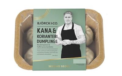 Björck&co. dumplings 200g kana-korianteri - kuva