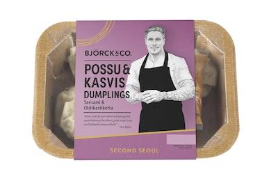 Björck&co. dumplings 125g possu-kasvis - kuva