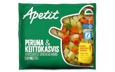 Apetit peruna-keittokasvis 1,2kg kasvissekoitus