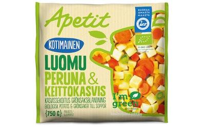 Apetit kotimainen peruna&keittokasvikset 750g luomu