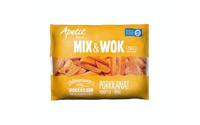 Apetit mix&wok porkkanat 150g