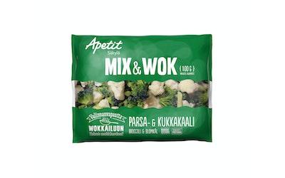 Apetit mix&wok parsakaali&kukkakaali 100g