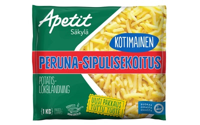 Apetit kotimainen peruna-sipulisekoitus 1kg pakaste
