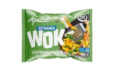 Apetit Kotimainen wok lehtikaali-kasvis 450g pakaste