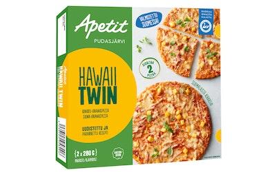 Apetit hawaii twin pizza 2x280g pakaste