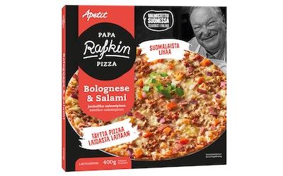 Papa Rafkin pizza bolognese salami 400g pakaste
