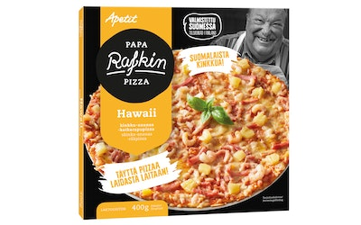 Papa Rafkin pizza hawaii 400g pakaste