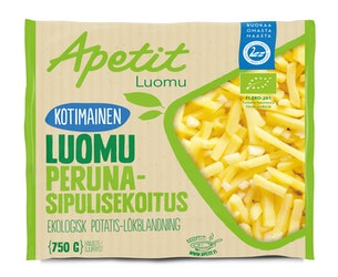 Apetit kotimainen perunasipulisekoitus 750g luomu pakaste