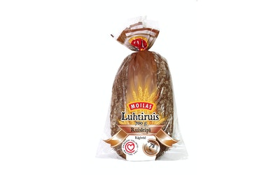 Moilas Luhtiruis 700g viipaloitu ruisleipä