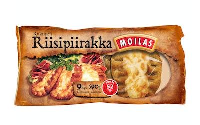 Moilas Karjalanpiirakka 9kpl 590g riisipiirakka