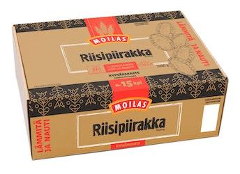 Moilas riisipiirakka 15kpl/1080g pakaste