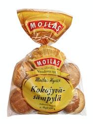 Moilas Kokojyväsämpylä 8 kpl vehnäsämpylä