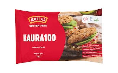 Moilas gluteeniton kaura 100 palaleipä 4kpl/340g pakaste