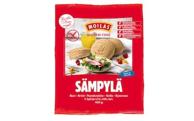 Moilas sämpylä 5kpl/400g gluteeniton pakaste