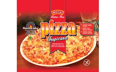 Moilas Pizza Tropicana 330g gluteeniton