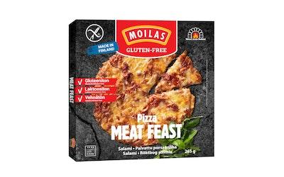 Moilas pizza meat feast 265g gluteeniton pakaste