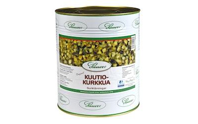 Sauvon Kuutiokurkkua mausteliemessä 8,2/4,3kg