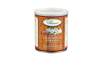 Sauvon Vanhan Ajan Valkosipulikurkkua viipaleina 850g/460 g