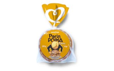 Porin leipä Porin Poika Kaura 4kpl/200g