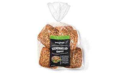 Porin leipä Siemen-neliö sämpylä 5/350g