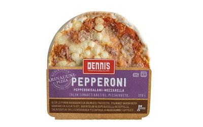 Dennis pizza pepperoni 370g - kuva