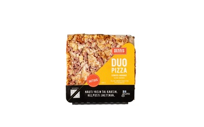 Dennis DUO kinkku-ananaspizza 500g
