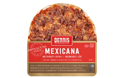 Dennis mexicanapizza 370g