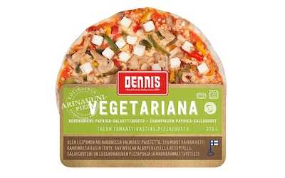Dennis Pizza Vegetariana 370g