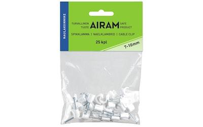 Airam naulakiinnike 7-10mm 25kpl/pss