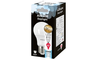 Airam led daylight E27 8,5W 810lm 865