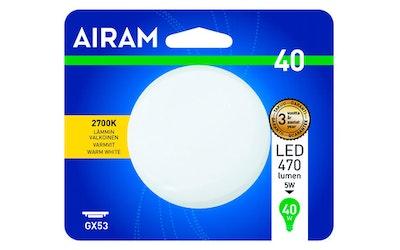 Airam led 5W GX53 470lm kämmenlamppu