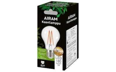 Airam led kasvilamppu 5W E27 180lm