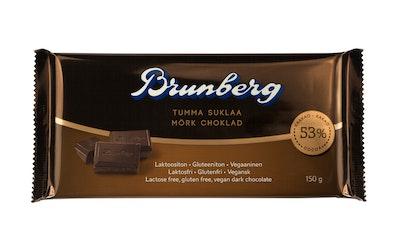 Brunberg Tumma suklaa laktoositon 150g