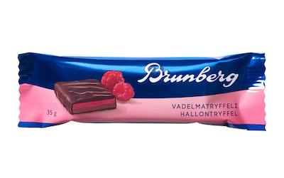 Brunberg Vadelmatryffelipatukka 35g